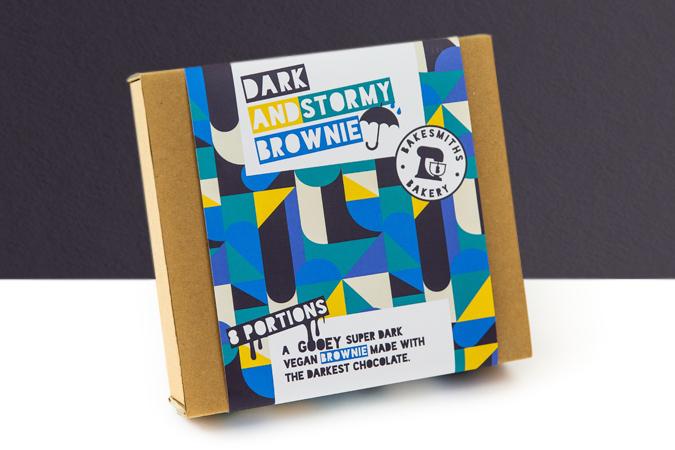 Dark & Stormy Brownie
