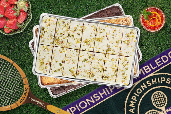 -Wimbledon Bundle FREE Strawberries & Cream-