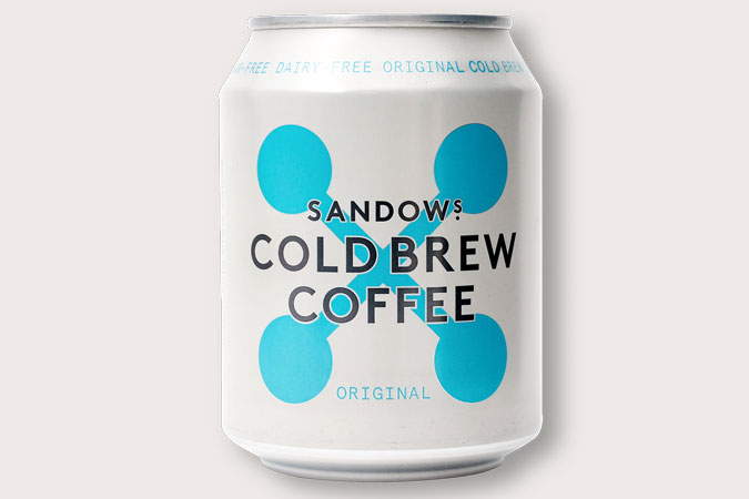 Sandows Cold Brew Coffee SAMPLE