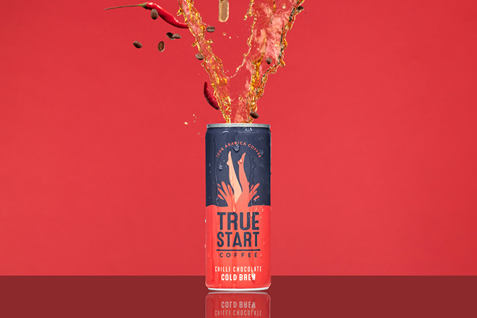 TrueStart  - Chilli Chocolate Cold Brew