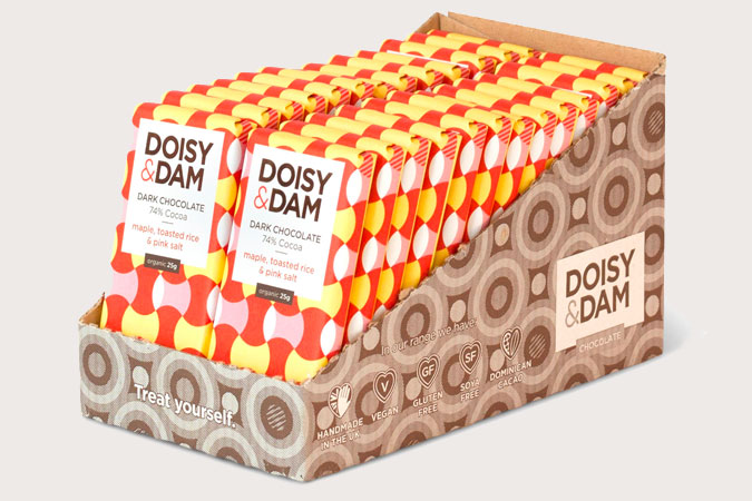 Doisy & Dam ~ Maple, Toasted Rice & Pink Salt