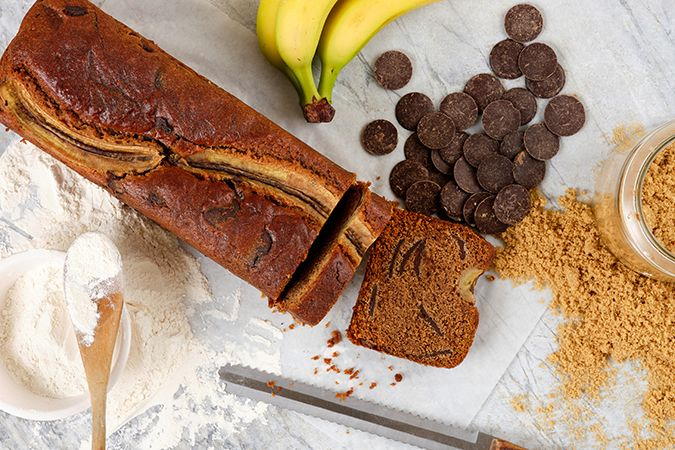 Banana & Chocolate Loaf Unportioned