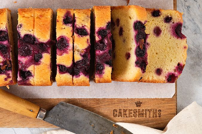 Lemon & Blueberry Loaf Pre-Sliced