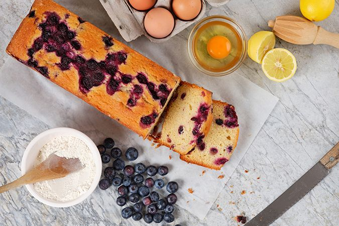 Lemon & Blueberry Loaf Unportioned