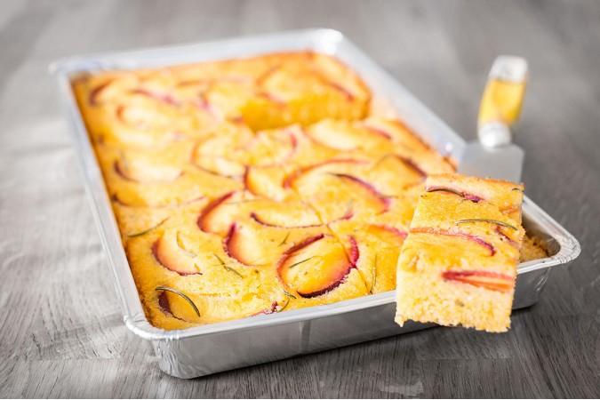 Peach & Rosemary