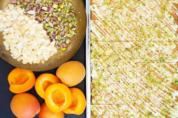 Apricot & Pistachio Frangipane