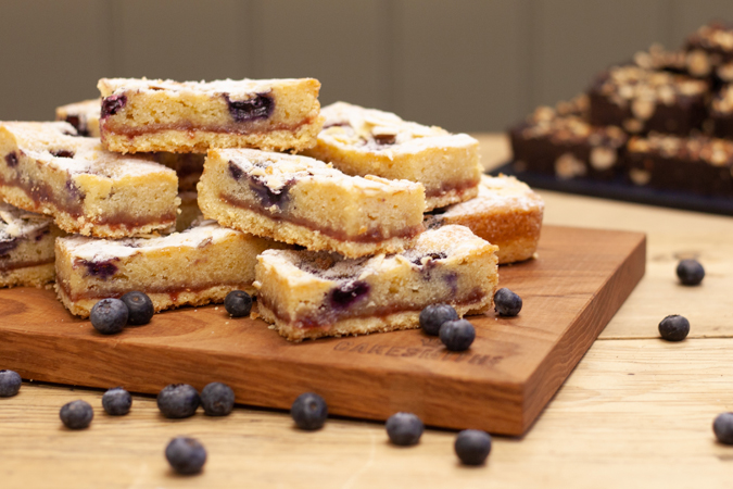 Blueberry Bakewell