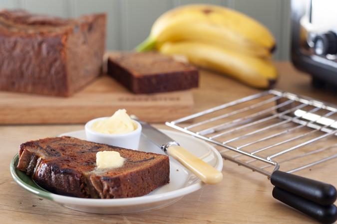 Banana & Chocolate Loaf