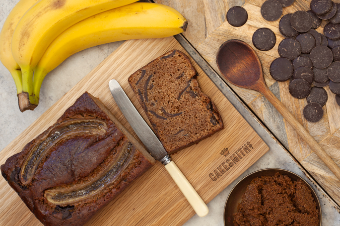 Banana & Chocolate Loaf