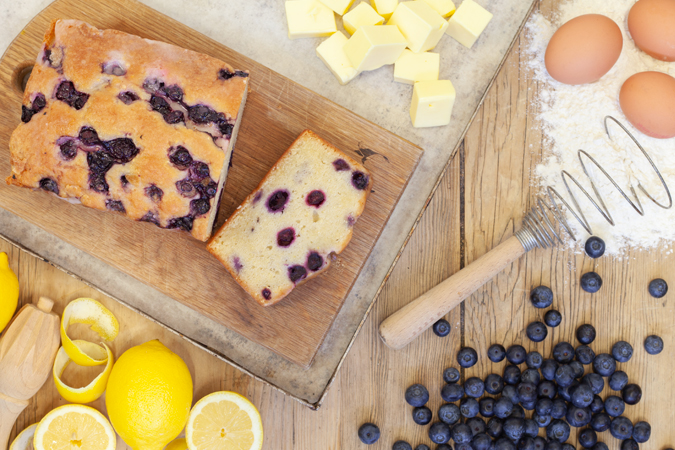 Lemon & Blueberry Loaf