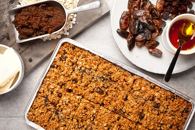 Dark & Fruity Flapjack