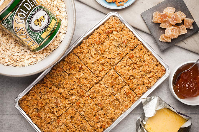 Ginger & Apricot Flapjack