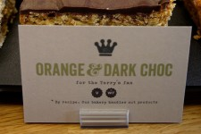 Orange & Dark Chocolate Flapjack
