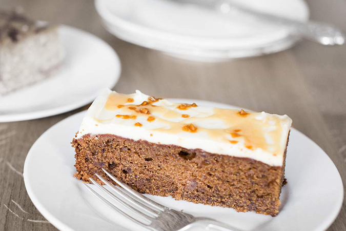 Salted Sticky Toffee