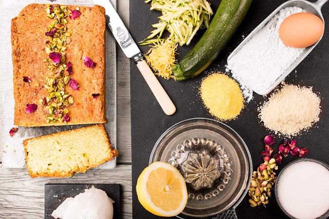 Lemon & Courgette Loafcake