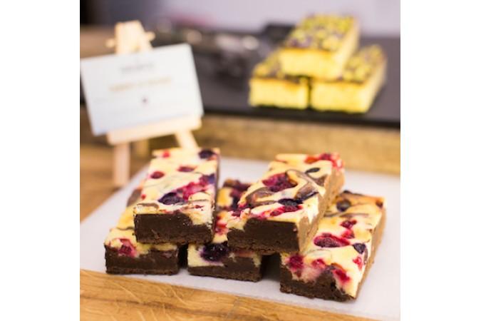 Loveberry Cheesecake Brownie