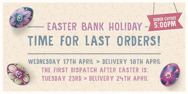 Easter Delivery Info