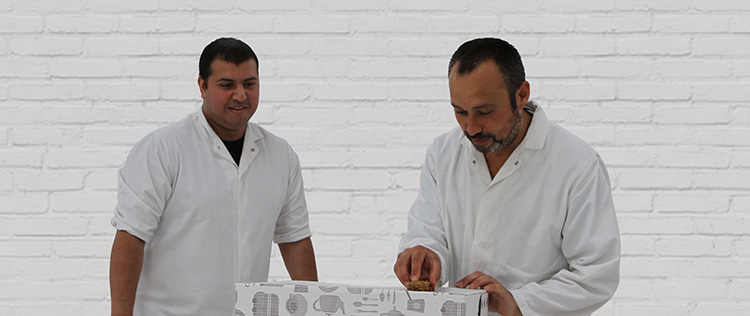 Image of Nathan & Laurence - Cakesmiths Head Bakers